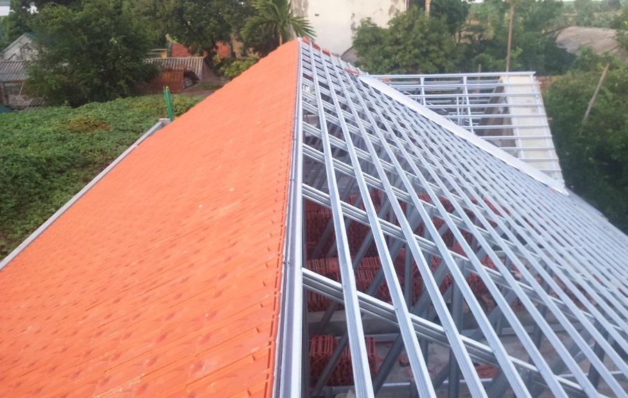 Thép VNTRUSS thẩm mỹ, bền vững cho mái nhà.