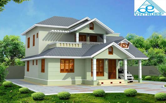 Yên tâm khi chọn vì kèo thép nhẹ VNTRUSS cho kết cấu mái nhà