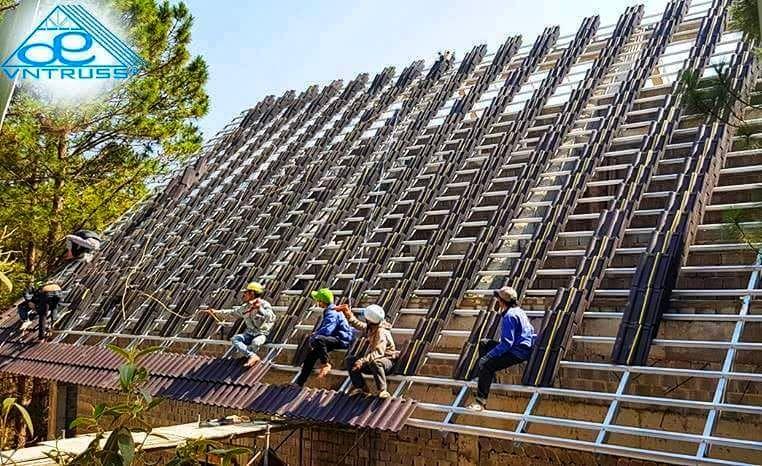 Chọn vì kèo thép VNTRUSS cho kết cấu mái nhà