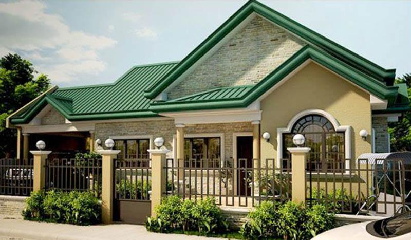 Phương pháp chọn ngói màu phong thủy cho mái nhà