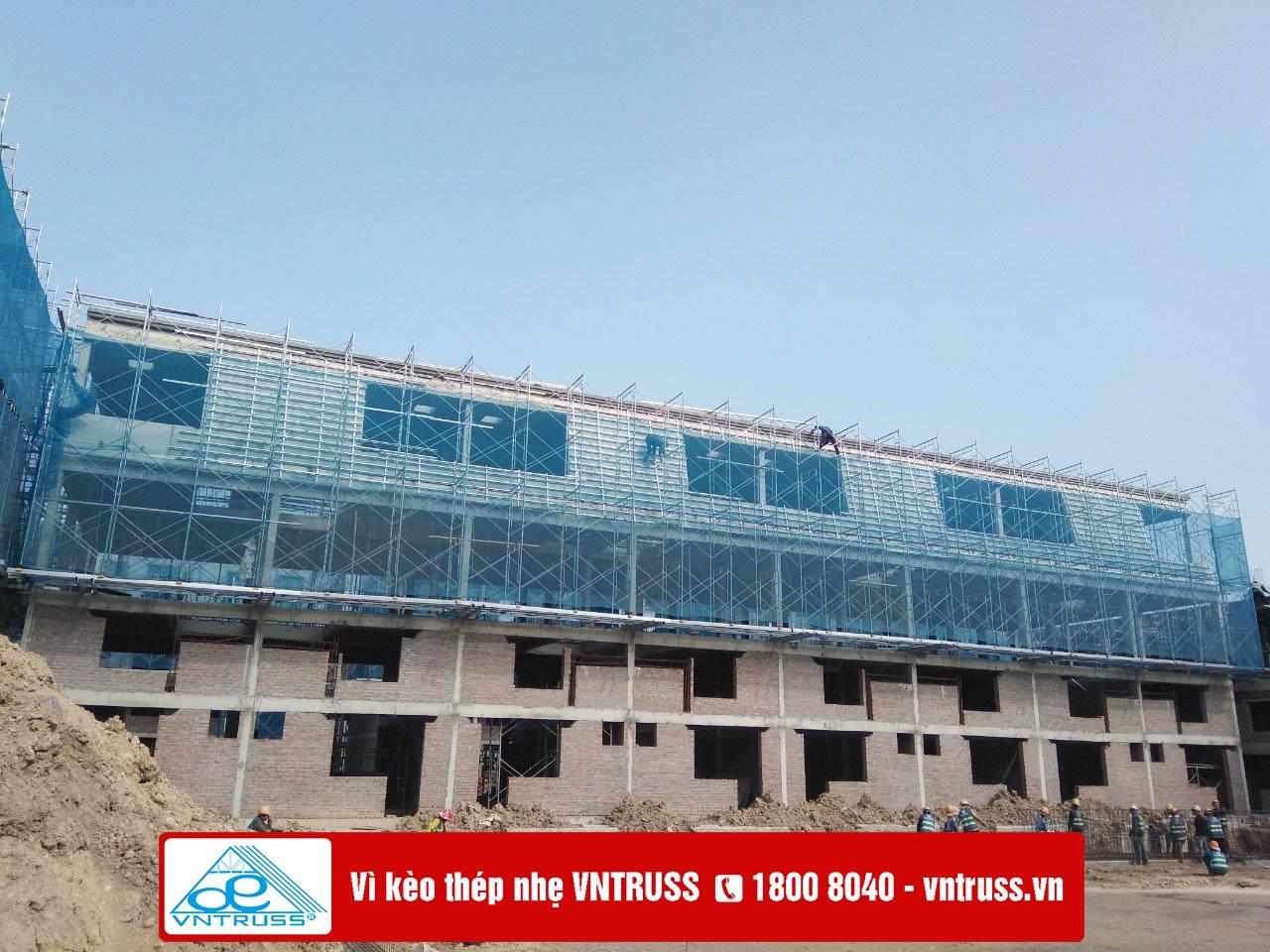 Dự án DRAGON HILL Hạ Long với kết cấu mái thép nhẹ VNtruss lợp ngói