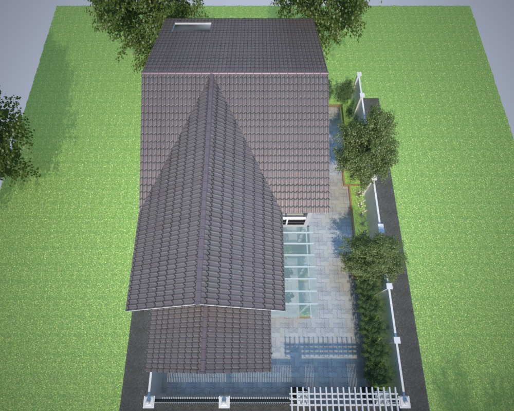 Thi công biệt thự vườn mái thái lợp ngói tại Bà Rịa Vũng Tàu