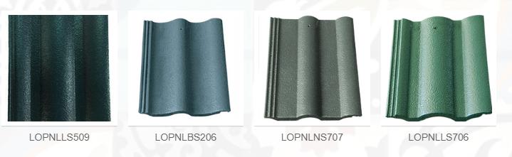 Bảng mã màu các loại ngói tốt nhất để lợp mái nhà