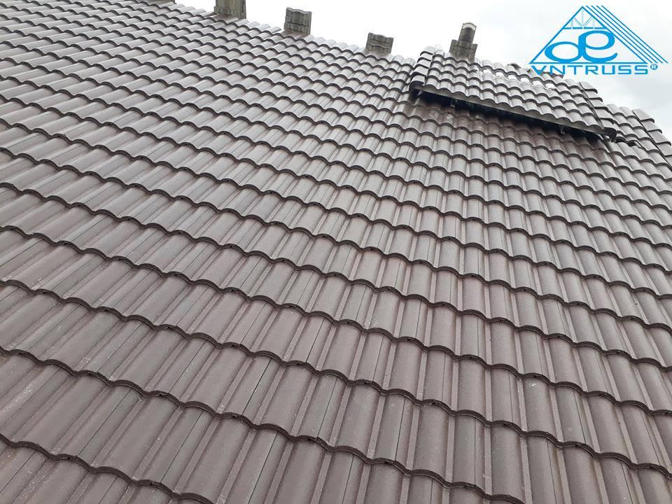 Công ty thi công lợp mái nhà lợp ngói uy tín
