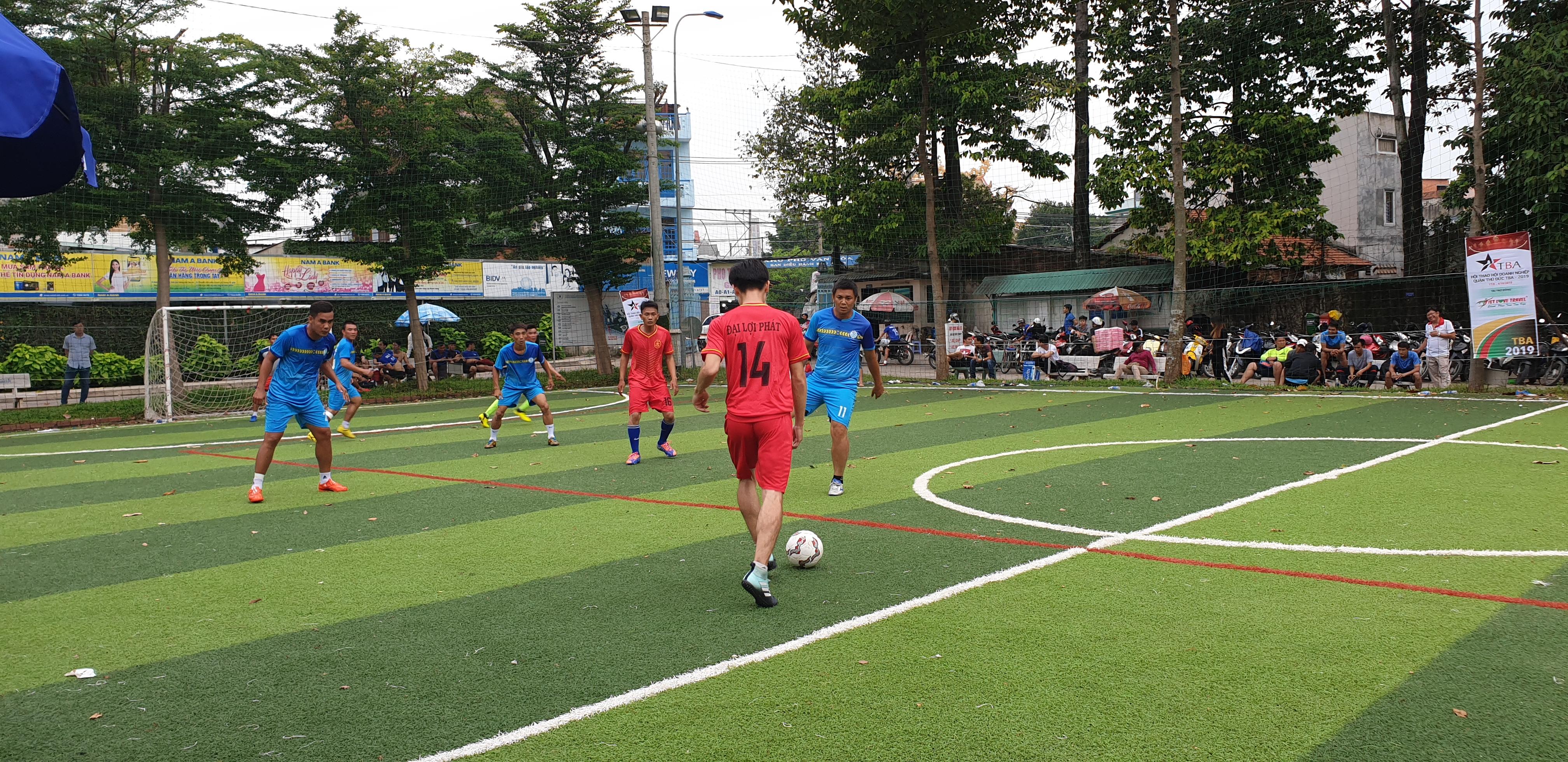 Đại Lợi Phát FC Tham Gia Hội Thao Do Hội Doanh Nghiệp Quận Thủ Đức Tổ Chức