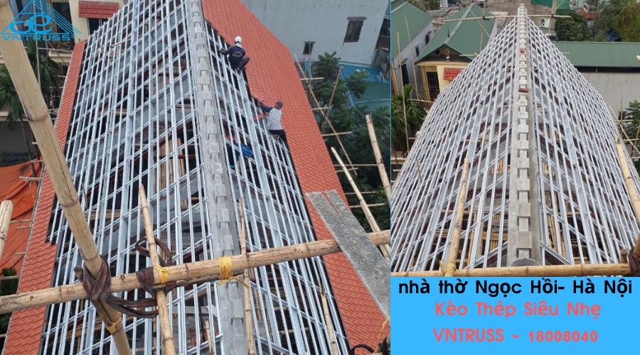 Một số mẫu thiết kế vì kèo thép đẹp tại Việt Nam hiện nay