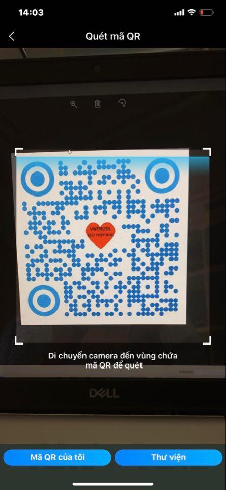 Hướng dẫn cách quét mã QR bằng điện thoại trên ứng dụng Zalo
