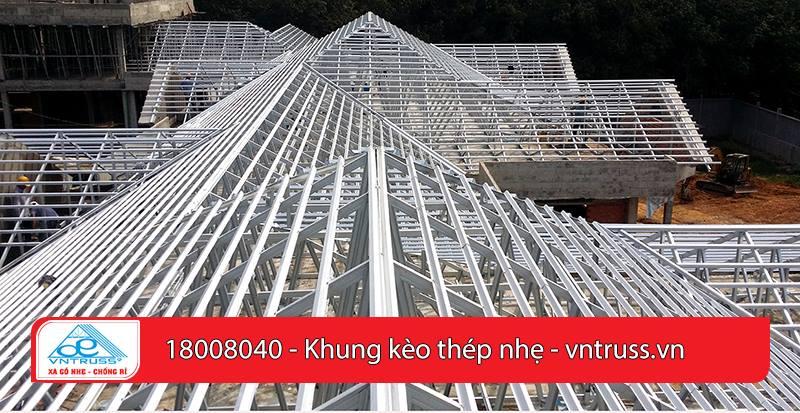 Tại sao khung kèo thép mạ lại trở thành giải pháp tốt nhất cho mái nhà?