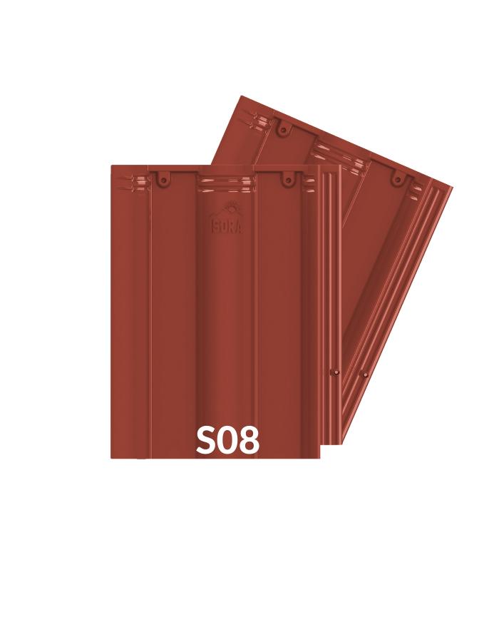 Ngói Màu Đỏ Đậm ISORA