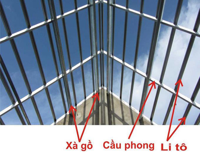 Tác dụng không thể thiếu của cầu phong trong thi công  mái nhà