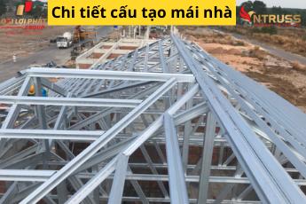Chi tiết cấu tạo mái nhà