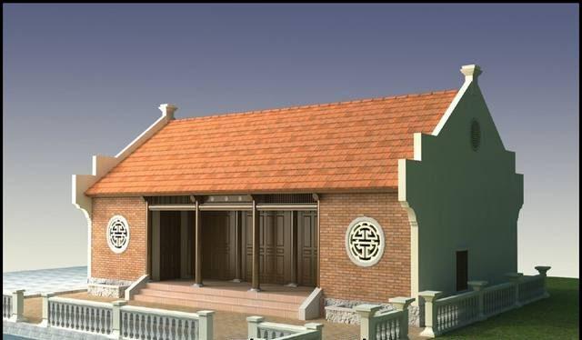 8 mẫu thiết kế nhà ba gian truyền thống